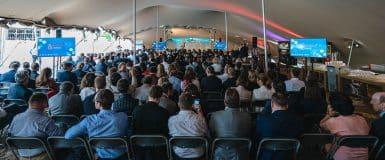PHOTOS : 500 entrepreneurs à la Cimenterie Éphémère