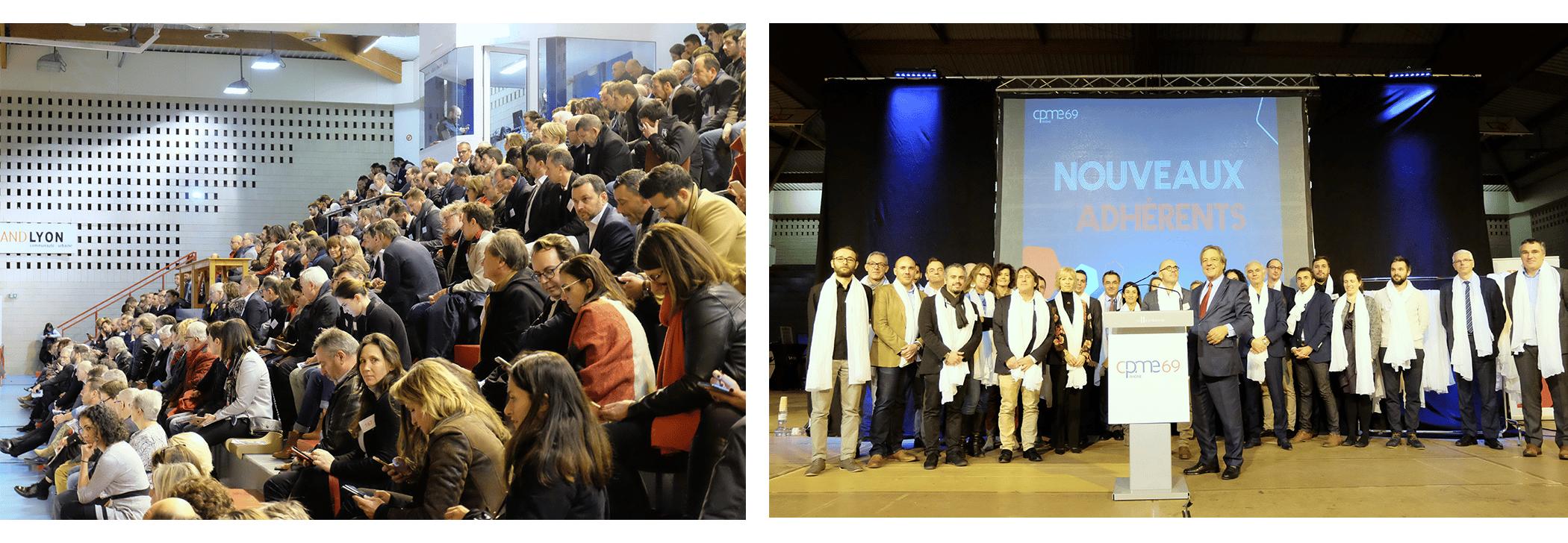 Soirées réseau entre entrepreneurs à Lyon, CPME du Rhône