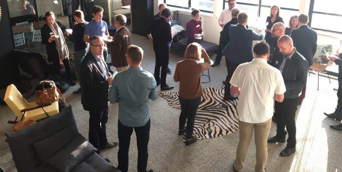 Petit déjeuner réseaux, échange et networking entre chefs d'entreprises à lyon. CPME du Rhône