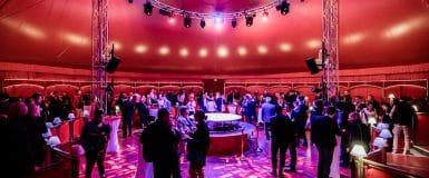 PHOTOS : 400 entrepreneurs au Cirque Imagine