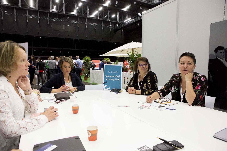 Table ronde, échange entrepreneurs a Made in PME, par la CPME du Rhône